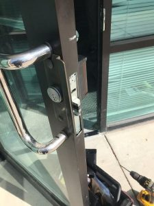 Business Door Lock change