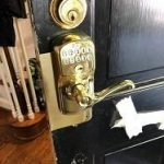Lock With Combination Numbers