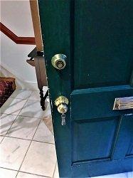New Replaced Knob Lock